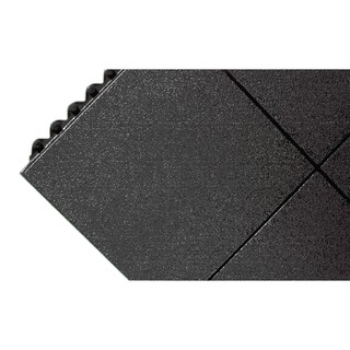 All-Purpose Solid Surface Black Anti-Fatigue Modular Mat 312413