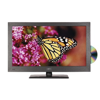 Black 22in HD Ready Super Slim LED TV/DVD Combo C22230F