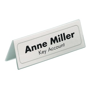 Table Place Name Holder Inserts 52x100mm (40 Pack) 1458/02