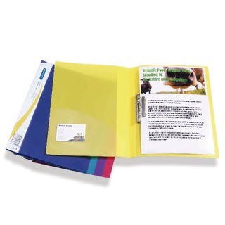 Clamp A4 Binder Assorted (10 Pack) 0793