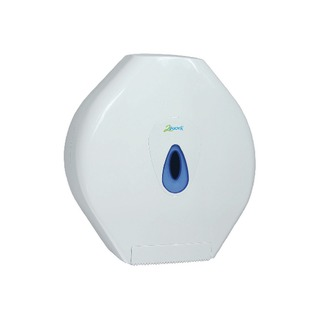 Standard White Jumbo Toilet Roll Dispenser DS925E