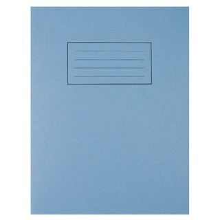 Feint Ruled With Margin Blue 229x178mm Exercise Book 80 Pages (10 Pack) EX1