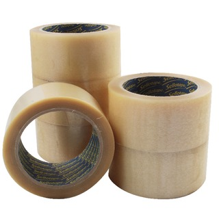 Clear Vinyl Case Sealing Tape 50mm x 66m (6 Pack) 14454