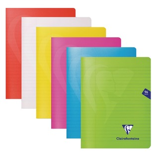 Mimseys Notebook A5 Assorted (10 Pack) 303745C