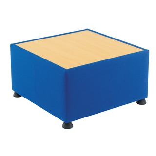 Blue Modular Reception Coffee Table