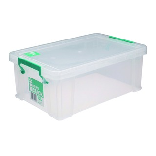 10 Litre Clear W400xD255xH150mm Store Box