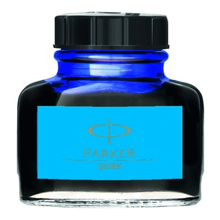 Parker Quink Blue Permanent Ink Bottle 2oz S003747