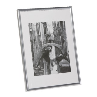 pany Silver A4 Back Loading Certificate Frame A4MARSIL-NG