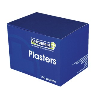 Blue Detectable Plasters (150 Pack) 1214