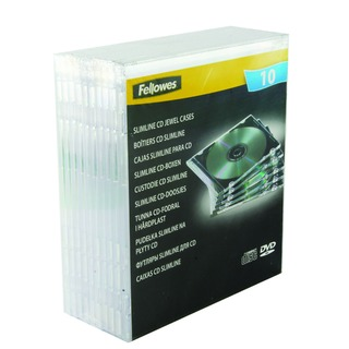 Slimline Clear CD Jewel Case (10 Pack) 9833801