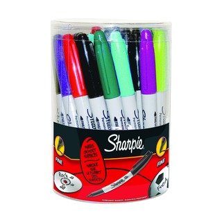 Fine Assorted Permanent Marker (36 Pack) S