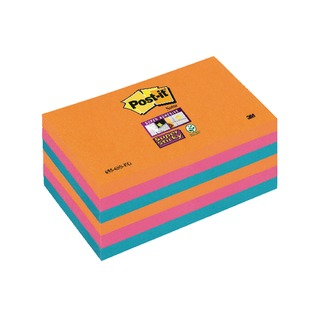 Post-it Bangkok 76 x 127mm Super Sticky Notes (6 Pack) 70-0051-9806-7