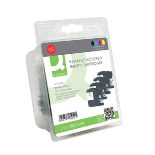 Brother LC223 Ink Cartridges Multi-Pack LC223VALBP-COM