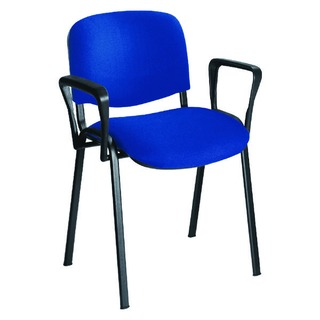 Black Arms For Stacking Chair (2 Pack)