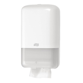 Folded Toilet Tissue T3 White Dispenser 556000