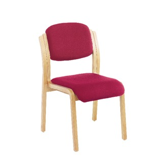 Wood Side Chair Claret