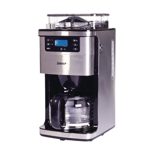Bean to Cup - 12 Cup Silver Coffee Machine IG822