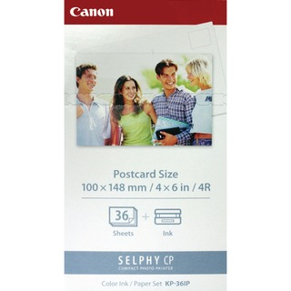 KP-36IP SELPHY Colour Cartridge/Paper Pack 7737A001