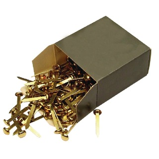 Brass Paper Fastener 40mm (200 Pack) 36671