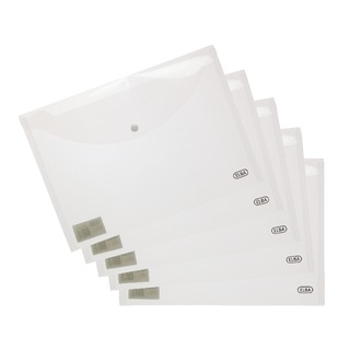 A4 Clear Snap Wallet (5 Pack) 1000809