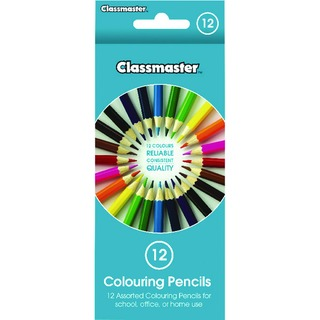 Assorted Classroom Colouring Pencils (12 Pack) CPW12