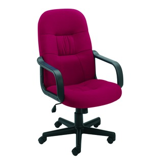 High Back Manager Claret Chair