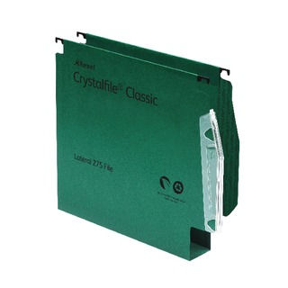 CrystalFile Classic Lateral File 30mm Green (50 Pack)