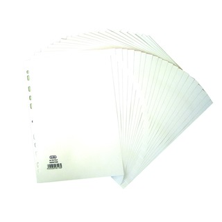 A4 20 Part 160gsm White Divider 4000075