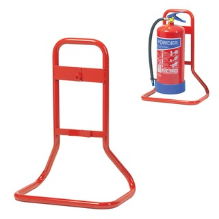 Single extinguisher stand - metal