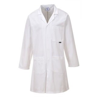 Cotton Coat, White, Small (   C851  )