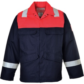 Bizflame Plus Jacket, Navy, Small (   FR55  )