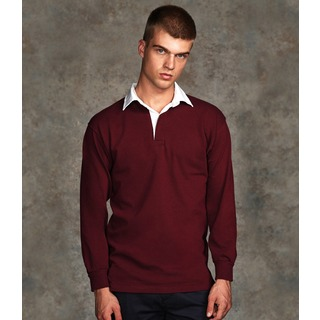 Front Row L/S Classic Rugby Shirt