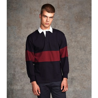 Front Row Panelled Rugby Shirt