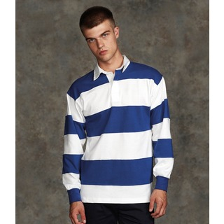 Front Row Sewn Stripe Rugby
