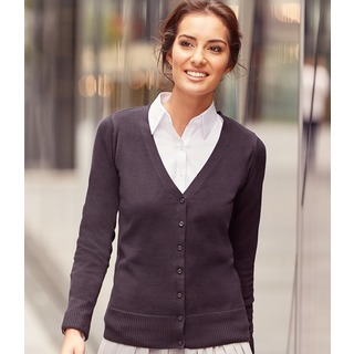 Russell Lds V Neck Cardigan