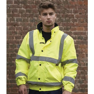 Warrior Memphis High Vis Bomber Jkt