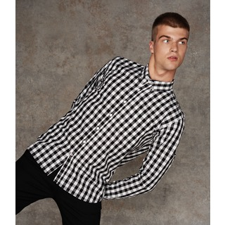 Front Row Checked Cotton Shirt