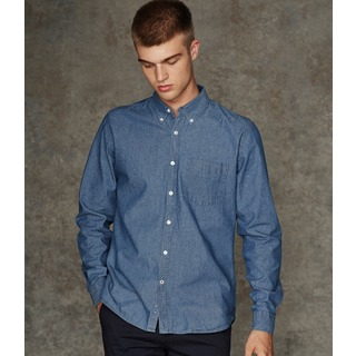 Front Row Classic Chambray Shirt