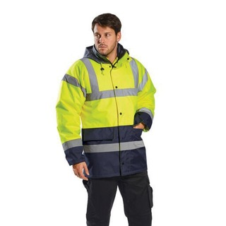 Portwest Hi-Vis Contrast Traffic Jkt