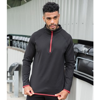 AWDis Cool Half Zip Sweat