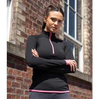 AWDis Girlie Cool Half Zip Swt