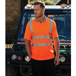 Warrior Daytona High Vis Polo