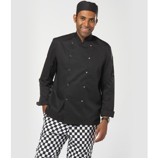 Dennys L/S Press Stud Chefs Jkt