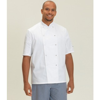 Dennys S/S Press Stud Chefs Jkt