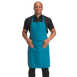 Dennys Poly. Bib Apron with Pocket