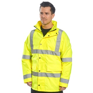 Portwest Hi-Vis 4-in-1 Traffic Jkt