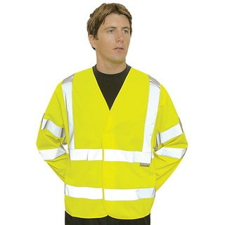 Portwest Hi-Vis 2 Band & Brace Jkt
