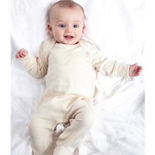 Babybugz Org. S/suit with Mitts