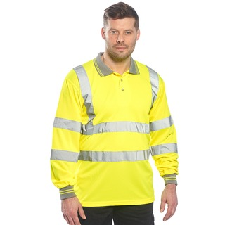 Portwest Hi-Vis L/S Polo