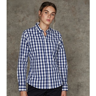 Front Row Lds Checked Shirt